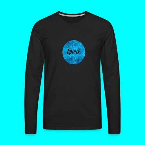 Epinik Logo - Men's Premium Long Sleeve T-Shirt