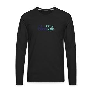 PennTalk - Men's Premium Long Sleeve T-Shirt