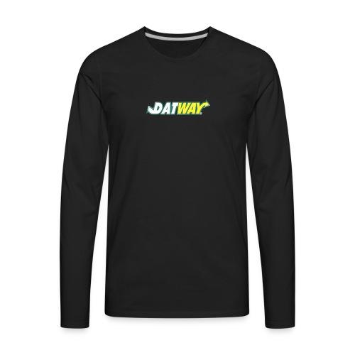 datway - Men's Premium Long Sleeve T-Shirt