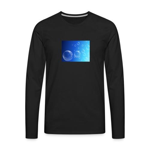 Bubbles - Men's Premium Long Sleeve T-Shirt
