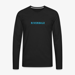 Riverdale simple tee - Men's Premium Long Sleeve T-Shirt