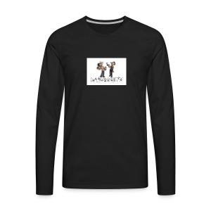 HBTV Cartoon Characters - Men's Premium Long Sleeve T-Shirt