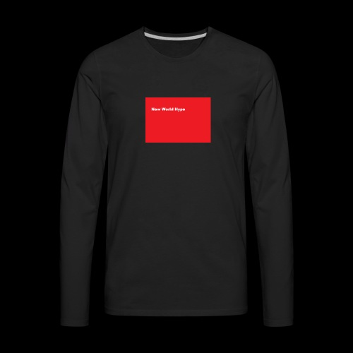 New World hype Supreme - Men's Premium Long Sleeve T-Shirt