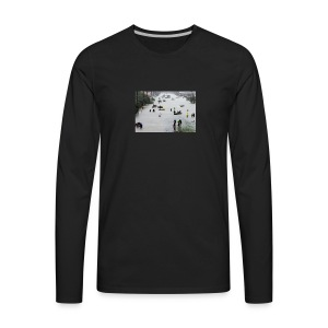 texas hurricane harvey 022 - Men's Premium Long Sleeve T-Shirt