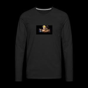 Billcams logo - Men's Premium Long Sleeve T-Shirt