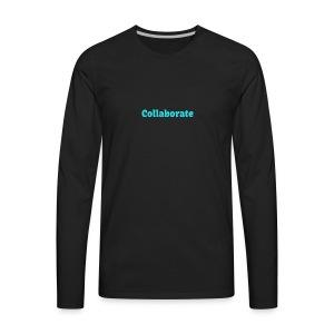 Collaborate - Men's Premium Long Sleeve T-Shirt