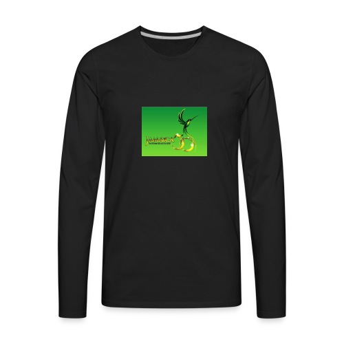 Jamaica 50 bird t shirt - Men's Premium Long Sleeve T-Shirt