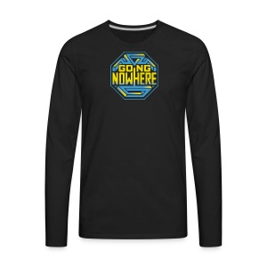 Going Nowhere Show - Men's Premium Long Sleeve T-Shirt