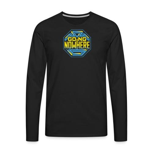 Going Nowhere Show - Men's Premium Long Sleeve T-Shirt