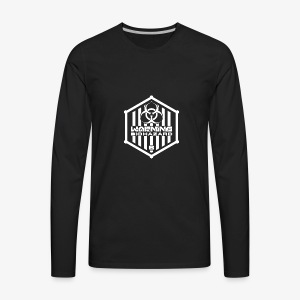Warning: Biohazard - Men's Premium Long Sleeve T-Shirt