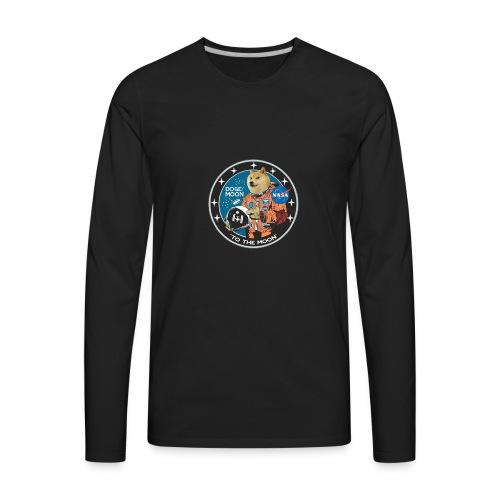 Doge to the Moon - Men's Premium Long Sleeve T-Shirt