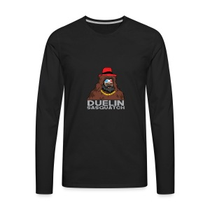 Duelin Sasquatch - Men's Premium Long Sleeve T-Shirt