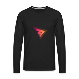 Logo IteX with another background logo - Men's Premium Long Sleeve T-Shirt