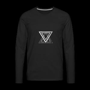 ABNF Badge Logo - Men's Premium Long Sleeve T-Shirt