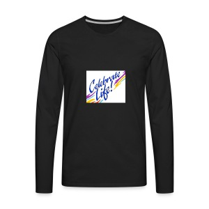 Celebrate Life Products - Men's Premium Long Sleeve T-Shirt