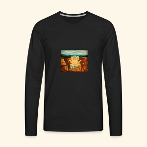Higher Meditation - Men's Premium Long Sleeve T-Shirt