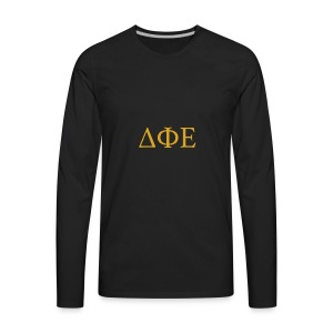 Good Ol Letters - Men's Premium Long Sleeve T-Shirt
