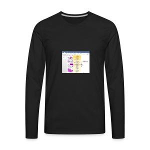 HOOM_Sample_Concept_In_Action_Grammarly_Tremendous - Men's Premium Long Sleeve T-Shirt