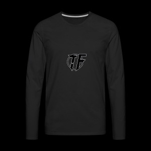 Fox Trot logo - Men's Premium Long Sleeve T-Shirt