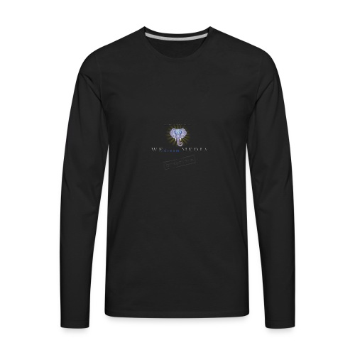 pro_logo_png_444444 - Men's Premium Long Sleeve T-Shirt
