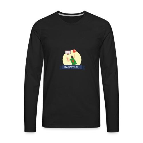 Basketball - Men's Premium Long Sleeve T-Shirt