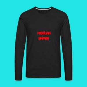 Mexican Sniper Graffiti - Men's Premium Long Sleeve T-Shirt