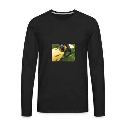 Youtube got me this bike jk - Men's Premium Long Sleeve T-Shirt