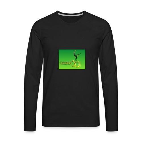 Jamaica 50 bird t shirt - Men's Premium Long Sleeve T-Shirt