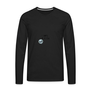 I Identify As a Alien - Men's Premium Long Sleeve T-Shirt
