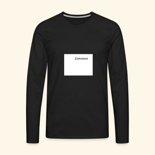 Untitled drawing - Men's Premium Long Sleeve T-Shirt