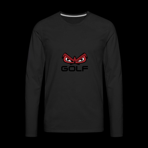 wakefield owl eyes golf - Men's Premium Long Sleeve T-Shirt