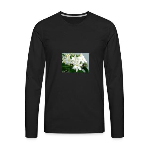 Jasmine Flower - Men's Premium Long Sleeve T-Shirt