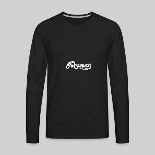 conscience Logo Design! - Men's Premium Long Sleeve T-Shirt