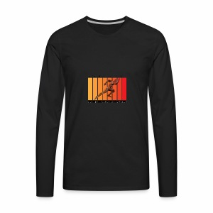 Athlete - Fire - Men's Premium Long Sleeve T-Shirt