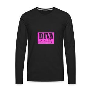 Diva Daddy™ FASHION WEAR FOR SINGLE MOMS - Men's Premium Long Sleeve T-Shirt