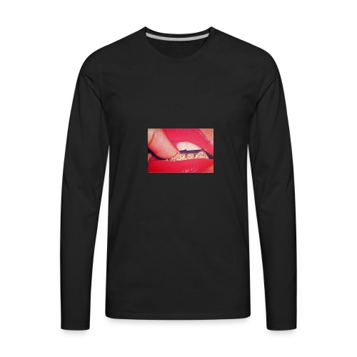 Pretty Girlz Hustle - Men's Premium Long Sleeve T-Shirt