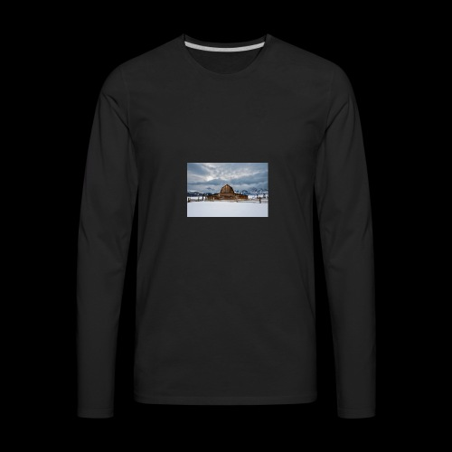 Barn - Men's Premium Long Sleeve T-Shirt