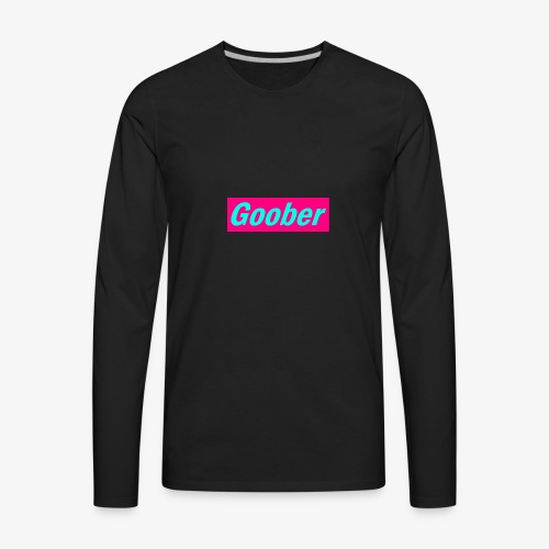 iamgoober - Men's Premium Long Sleeve T-Shirt