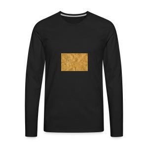 golden block rock - Men's Premium Long Sleeve T-Shirt