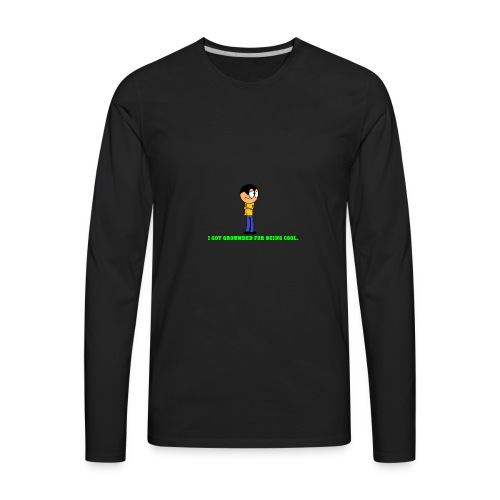 shirt design 2 - Men's Premium Long Sleeve T-Shirt