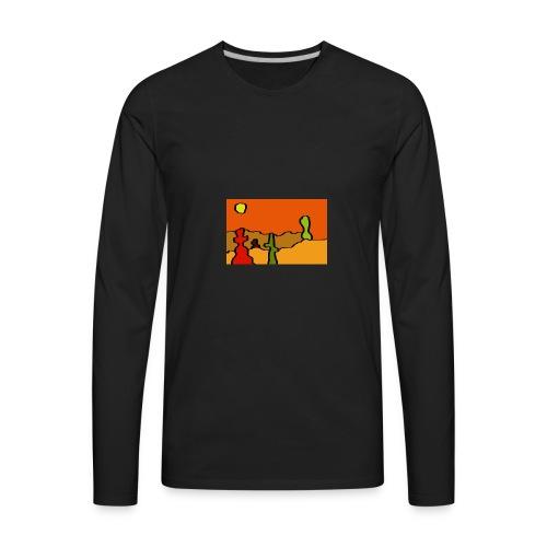 desert - Men's Premium Long Sleeve T-Shirt