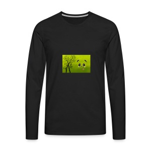 panda cuteness - Men's Premium Long Sleeve T-Shirt