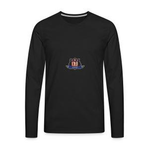 DJ_J_Soup_Blue - Men's Premium Long Sleeve T-Shirt