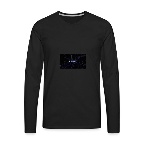 Nc Bassin Tv - Men's Premium Long Sleeve T-Shirt