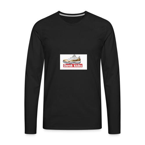White W/ Jordan 11 Closing Ceremony - Men's Premium Long Sleeve T-Shirt