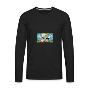 Gabi&sofis adventure time - Men's Premium Long Sleeve T-Shirt