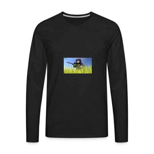 The gun DeathLord - Men's Premium Long Sleeve T-Shirt