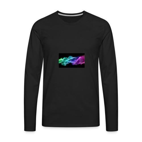 ws Curtain Colors 2560x1440 - Men's Premium Long Sleeve T-Shirt