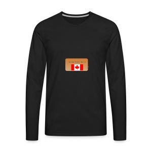 Canadian Couponer - Men's Premium Long Sleeve T-Shirt