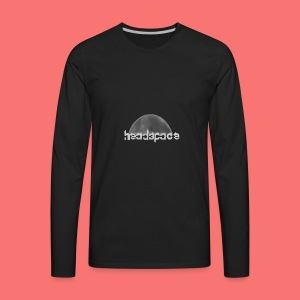 headspace logo - Men's Premium Long Sleeve T-Shirt